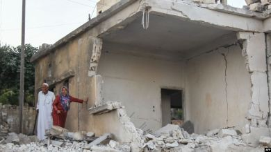 صورة مقتل مدنيين بقصف في شمال غرب سوريا