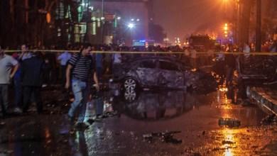 صورة بالفيديو.. لحظة الانفجار بمحيط معهد الأورام بالقاهرة