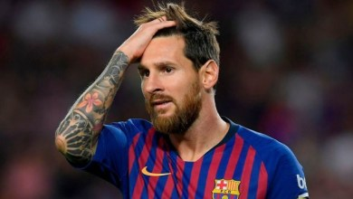 صورة إذاعة اسبانية : ميسي هدد بالرحيل عن برشلونة.