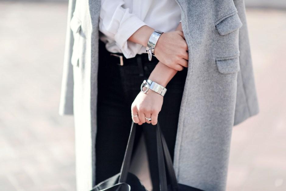 the haute persuit cuffs oversized grey coat mules celine trio-3 copy