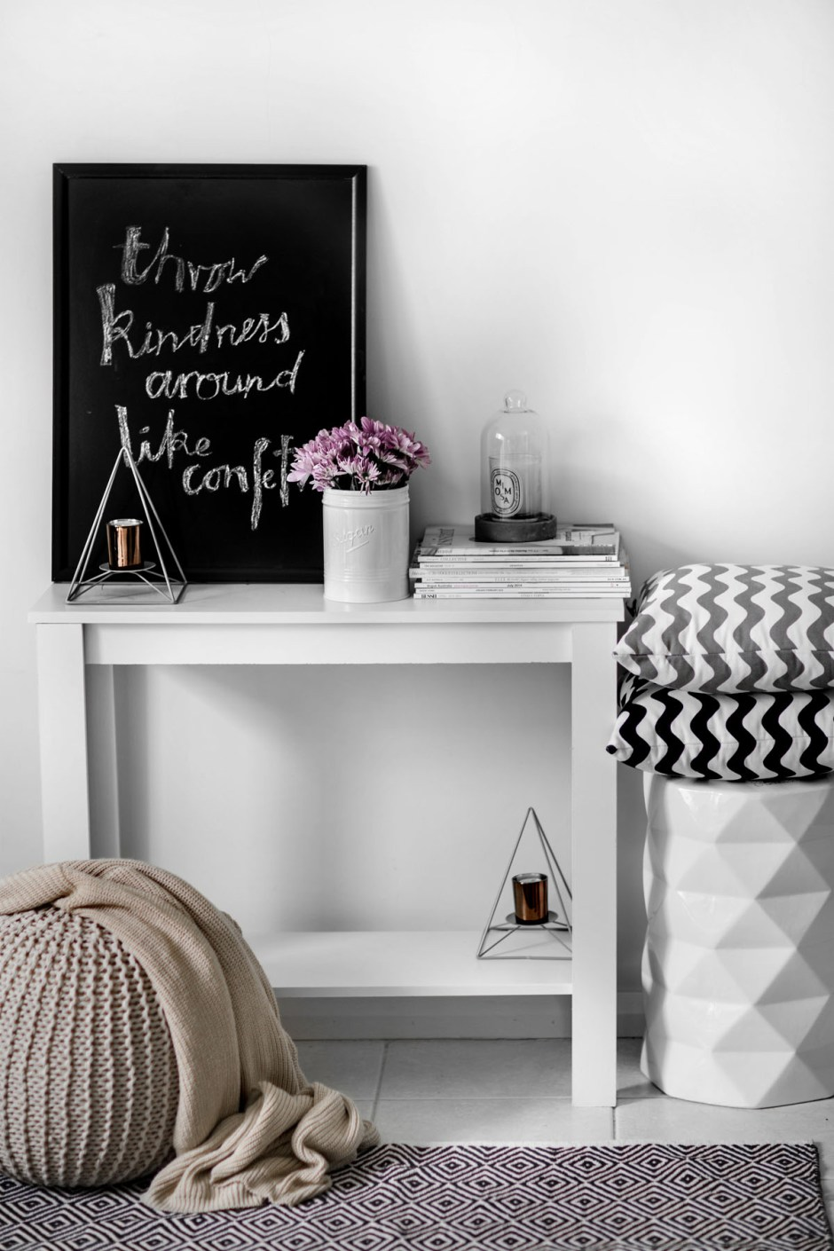 Decorate a Living Room with Reject Shop-6 copy