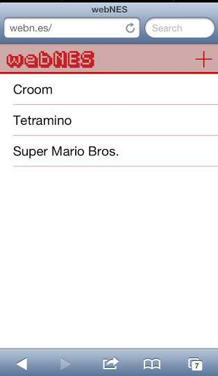 Play Nintendo NES Super Mario Bros Online on iPhone Safari