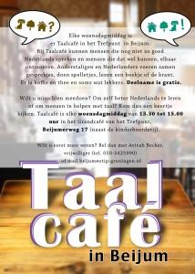 Taal Tafel flyer