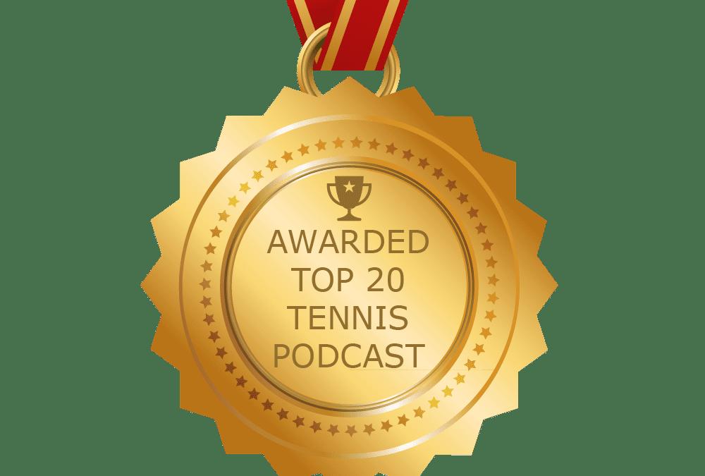 Top 20 Tennis Podcasts by Blog.Feedspot.com