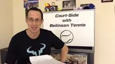 S. 2 1/2, Ep. 33 – Court-Side with Beilinson Tennis – Day One through Day Five Recap, Preview of Day Six and Thoughts on the Ignorance of John McEnroe