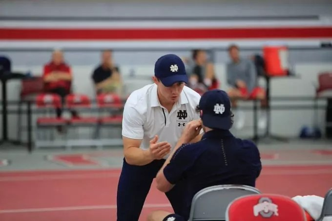 Episode 85 – Podcast with Notre Dame Men's Assistant Coach Greg Andrews