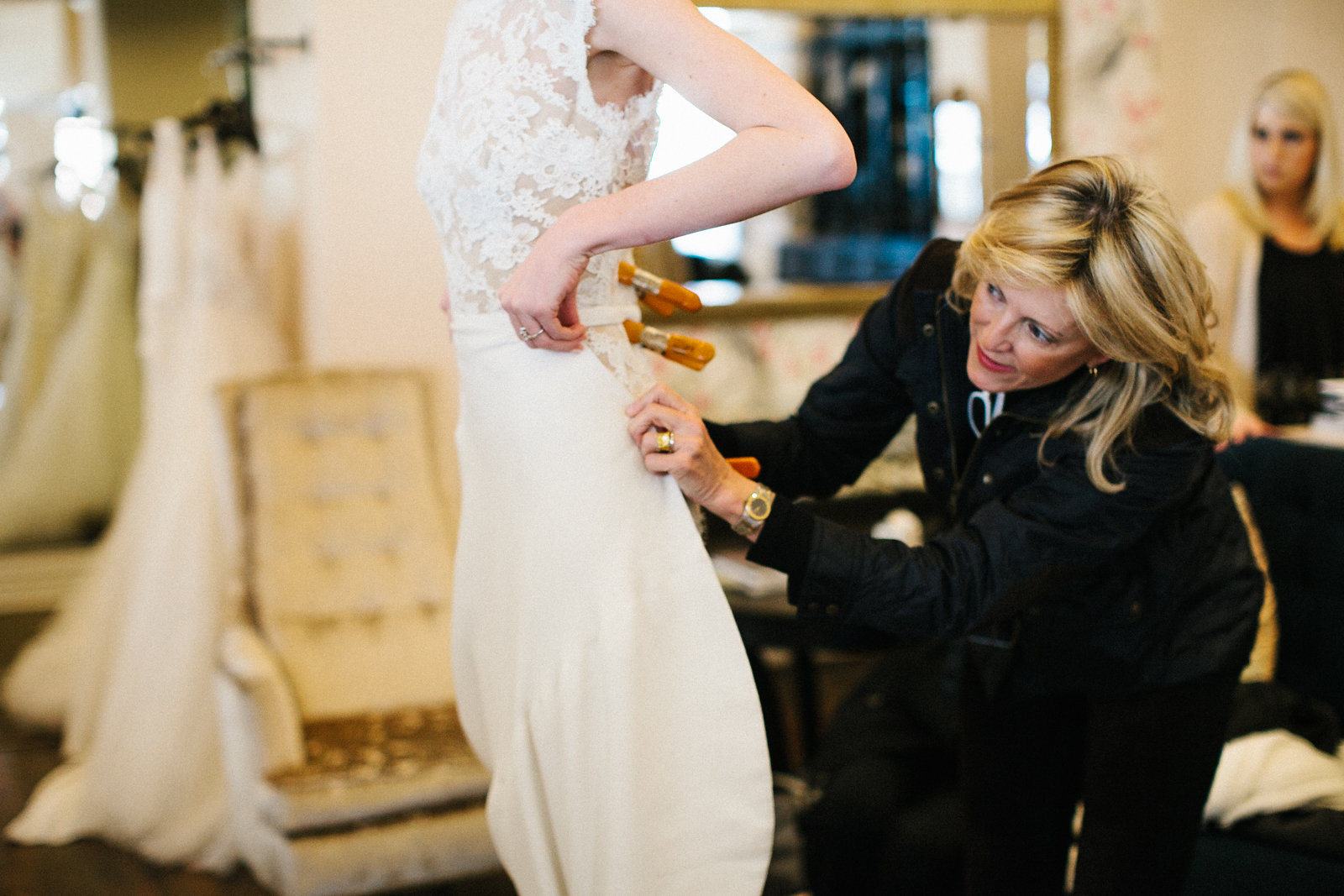 Wedding Wednesday: Trying on Wedding Dresses -- Dallas, TX | BEING ...