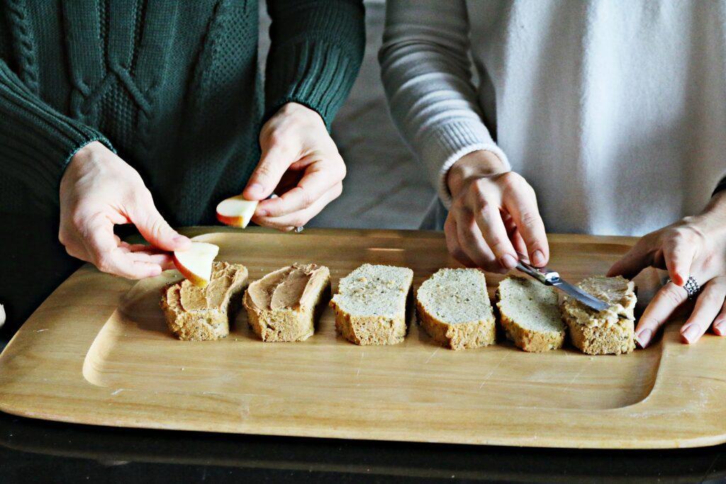 Grain-free Fiber Rich Bread from BeingBrigid is a heart-healthy, gut-healthy bread alternative.