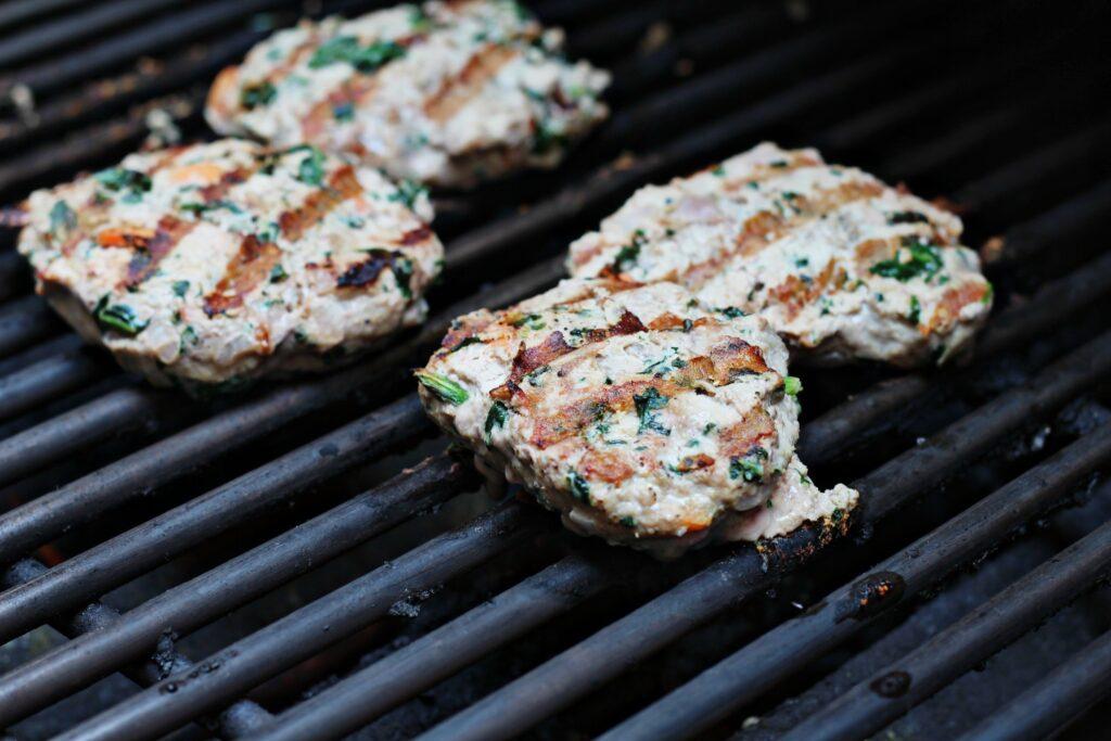 Turkey Burgers Memorial Day BeingBrigid
