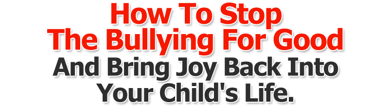 Bullying In Schools!   A Useful Guide For Parents  Image of headline