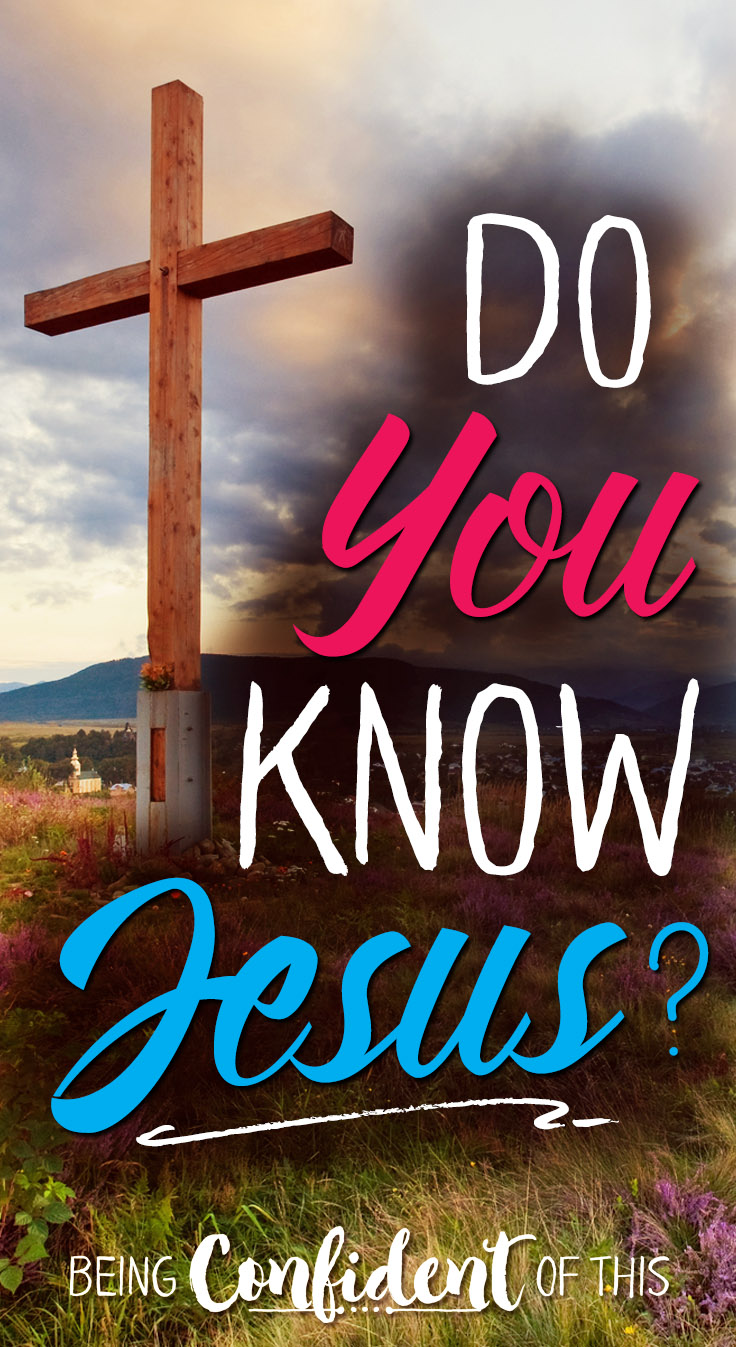 It's the one question that matters most. Do you really know Jesus? What does that even mean? salvation, believing in Christ, how to be a christian, relationship with God, becoming a christian, how to get to Heaven, eternal life, get saved