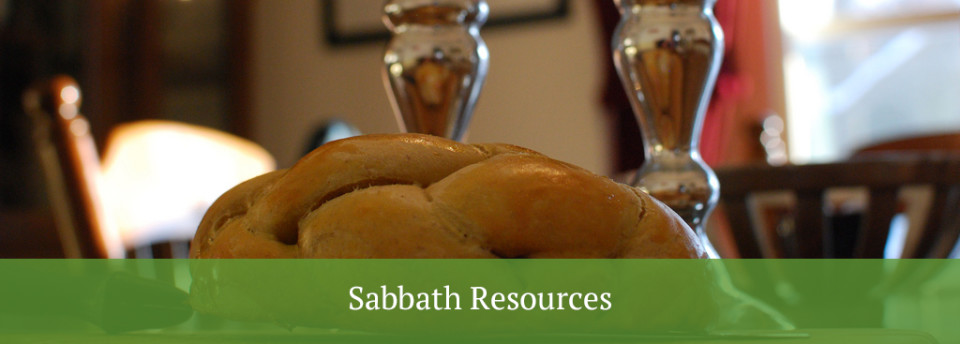 sabbath resources - loaf of bread on a table