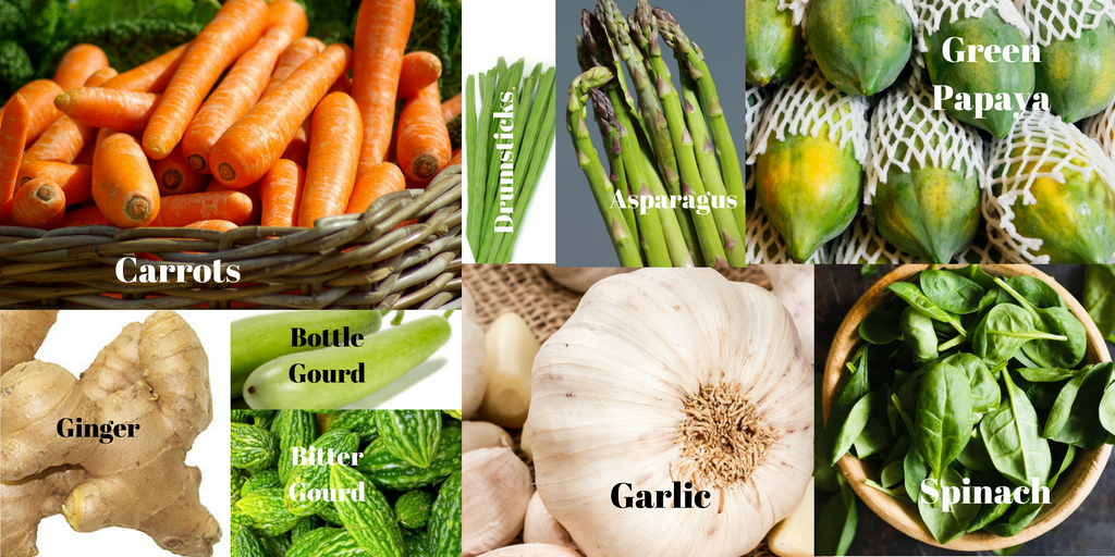 vegetables to increase milk supply