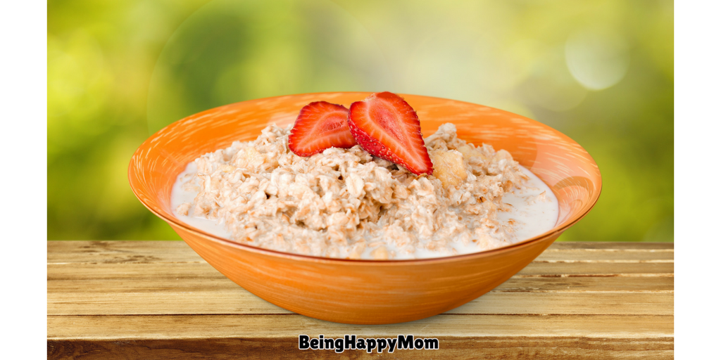 Curd Oats For Baby