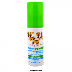 MamaEarth Soothing Massage Oil