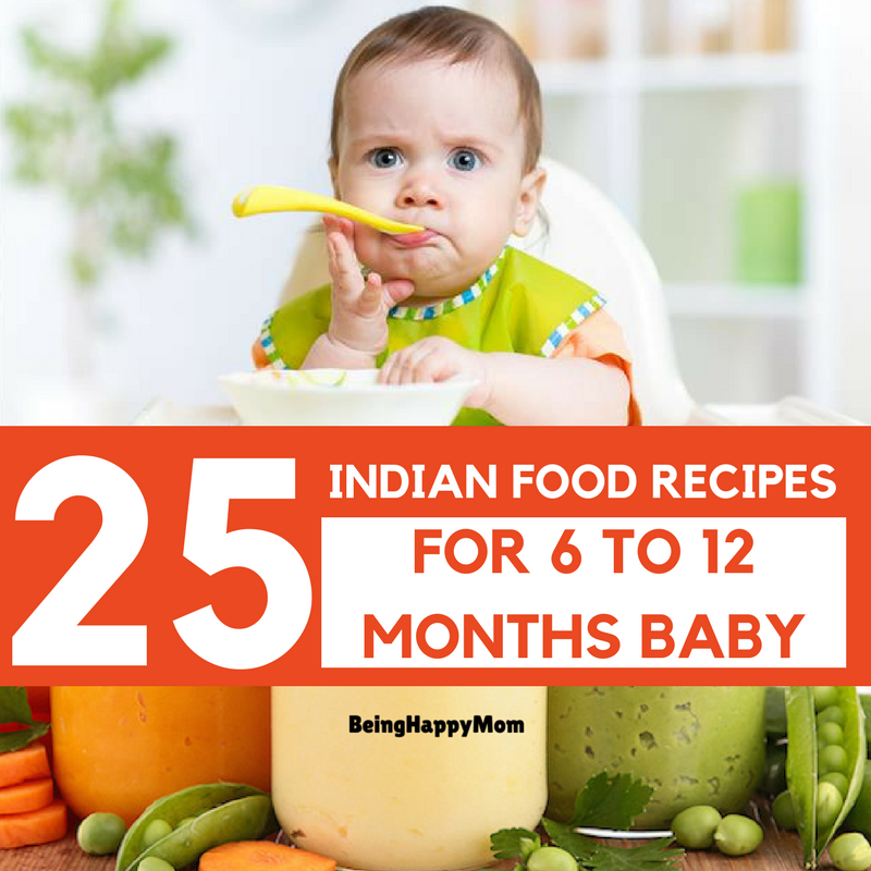 indian food recipes for baby