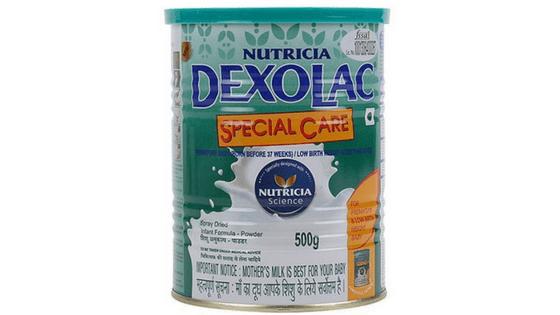 Dexolac baby formula milk