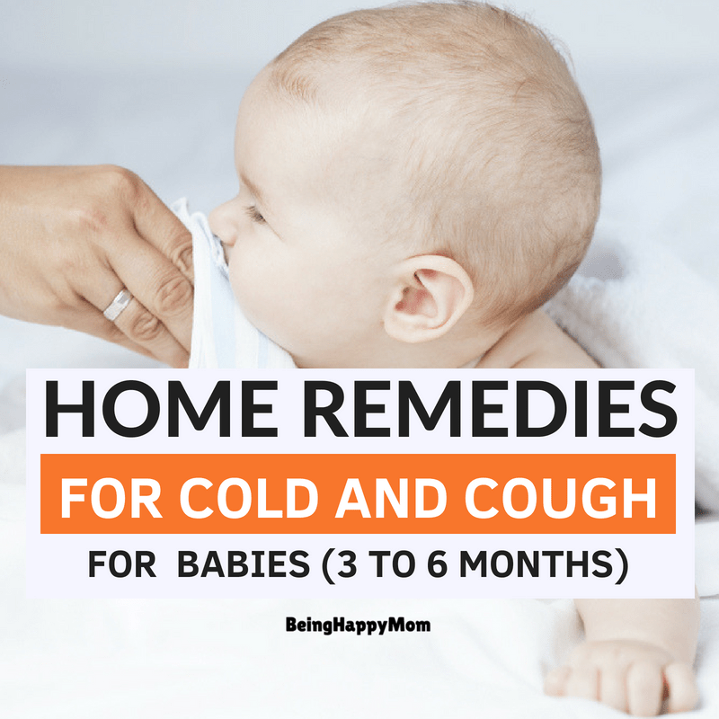 13 Best Home Remedies For Cold and Cough in Babies 2019
