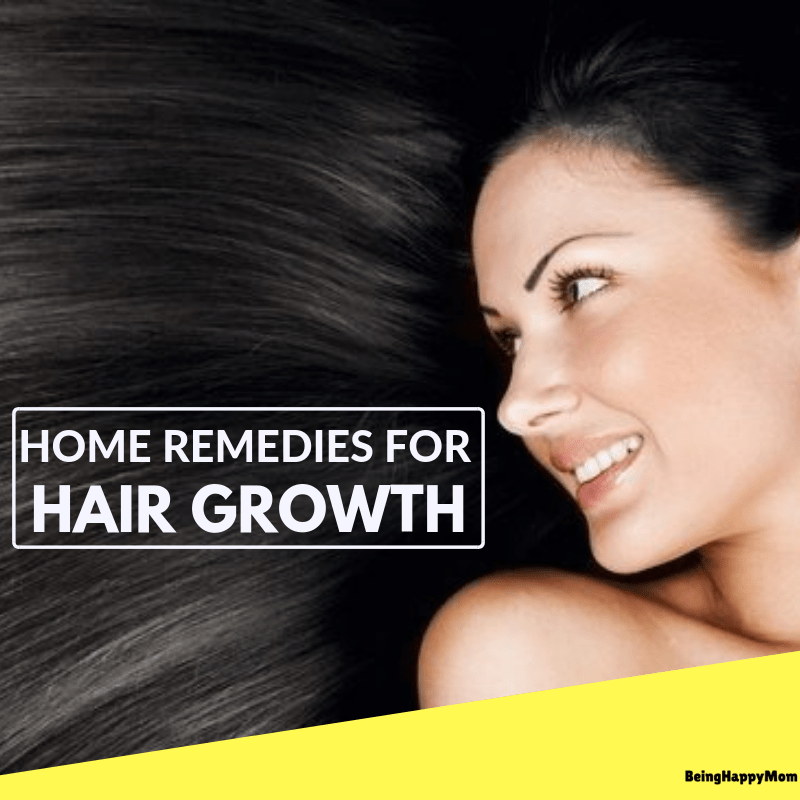 13 Best Home Remedies For Hair Growth
