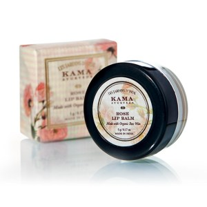 kama rose lip balm