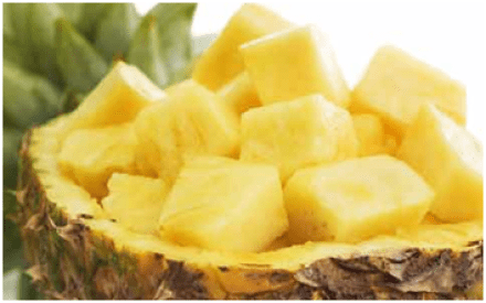 Pineapple for urine infection