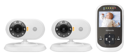 Motorola MBP25-2 Wireless 2.4 GHz Video Baby Monitor