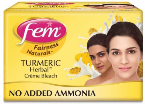 Fem Turmeric Herbal Fairness Creme Bleach