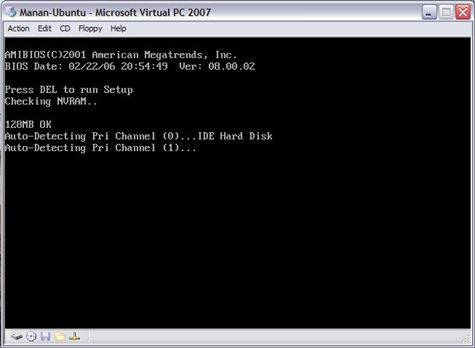 VPC Window 02 (Boot)