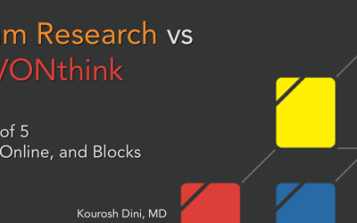 Roam Research vs DEVONthink – Part 2 of 5 – Local, Online, and Blocks