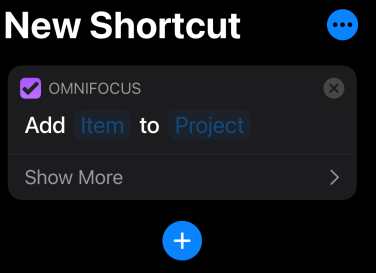 OmniFocus Task Addition option