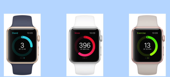 activity app apple watch fitness