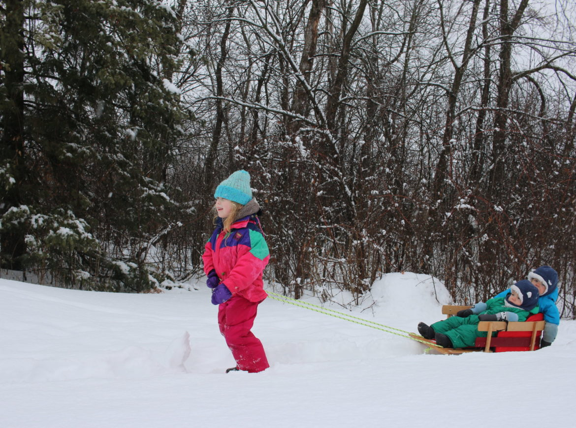 TIPS FOR GETTING SMALL KIDS READY FOR OUTDOOR WINTER PLAY