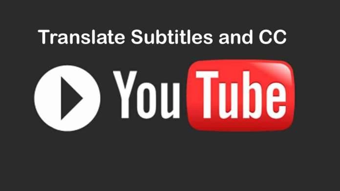 English to Hindi on Youtube