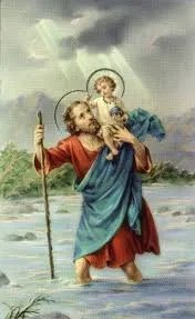 7. This is the patron saint of travel