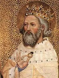 5. This man is the only King of England to have been made a Saint