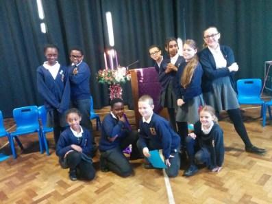 Lighting the Advent Wreath