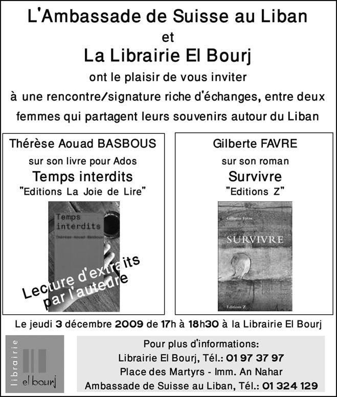 Book Signing @ El Bourj Library