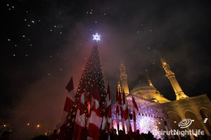 Downtown Beirut Christmas Tree Light Up Part2