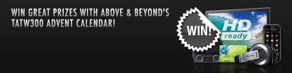 Above & Beyond December Giveaways