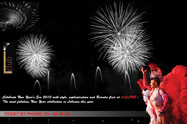 "Bring in 2010 in style at "" L-CLUB """