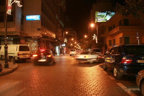 """Hamra- """"Champs Elysées"""" of Beirut"""