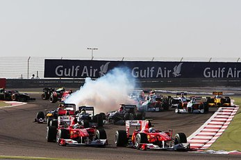 Ferrari dominate the opening of the F1 season at Bahrain GP