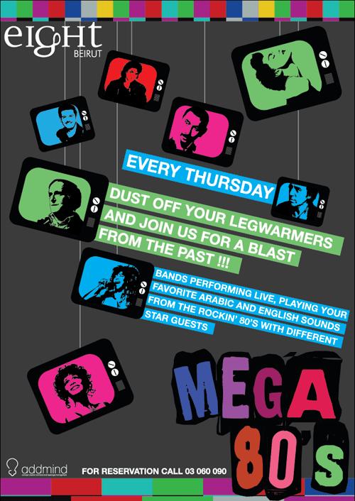 Mega 80's at Eight