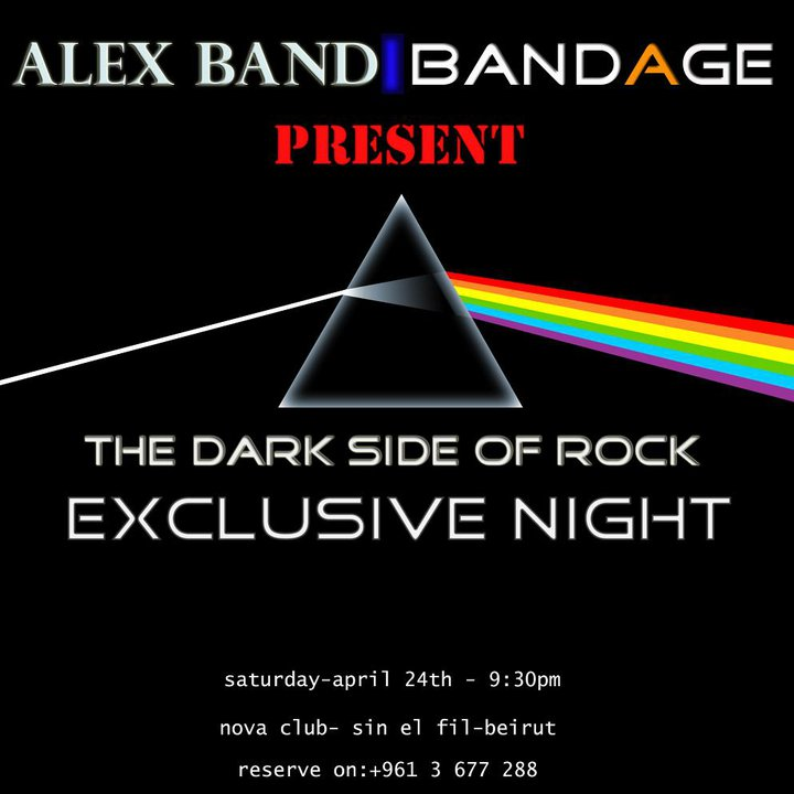 Alex Band and BandAge In An Exclusive Dark Rock Night!