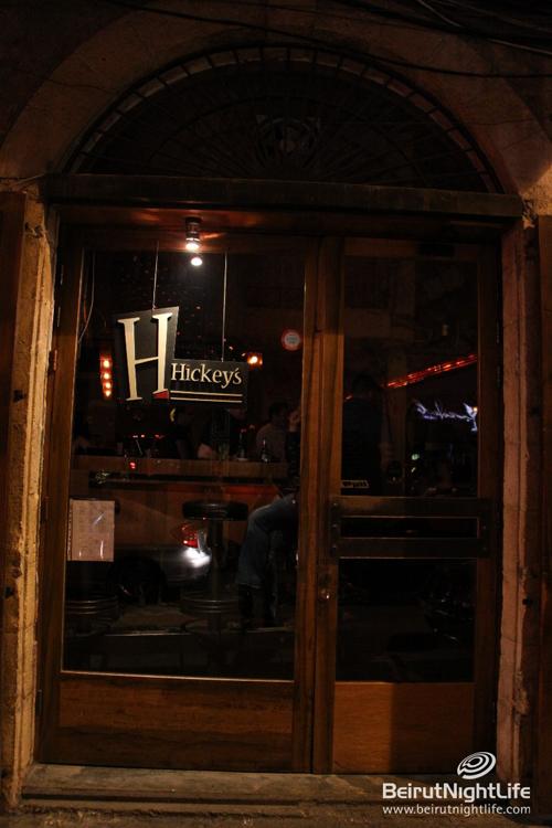 Hickey's- Gemmayzeh Beirut