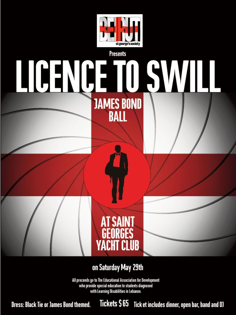 Licence to Swill- James Bond Ball