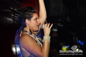 Abigail in a 'touching' performance at Noir- Beirut