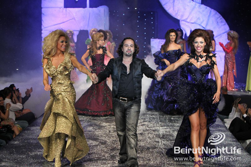 Fouad Sarkis Grande Finale at the Playboy Fashion Week 2010