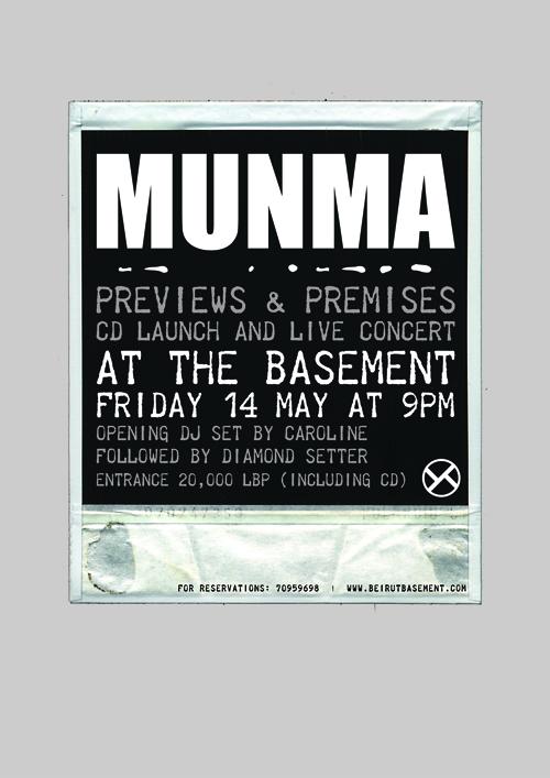 ZIAD NAWFAL pres. MUNMA Live & Album Launch @ THE BASEMENT