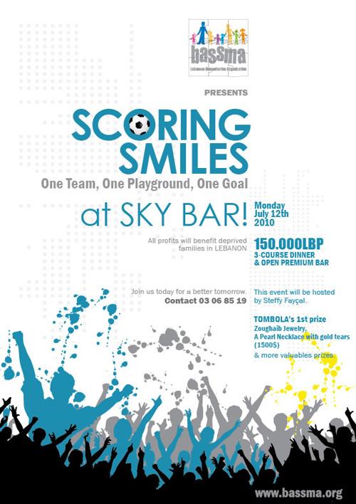 Scoring Smiles at Sky Bar